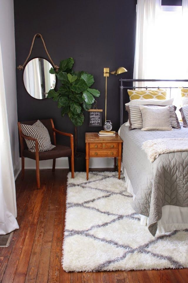 A Dark Accent Wall Rooms For Rent Blog