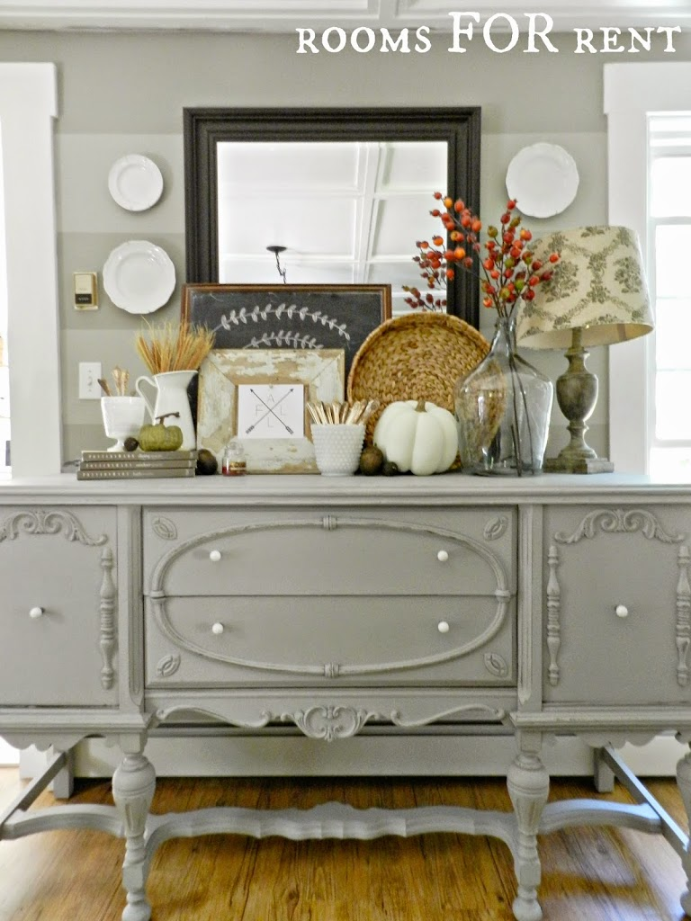 Painted Antique Buffet Reveal Rooms For Rent Blog