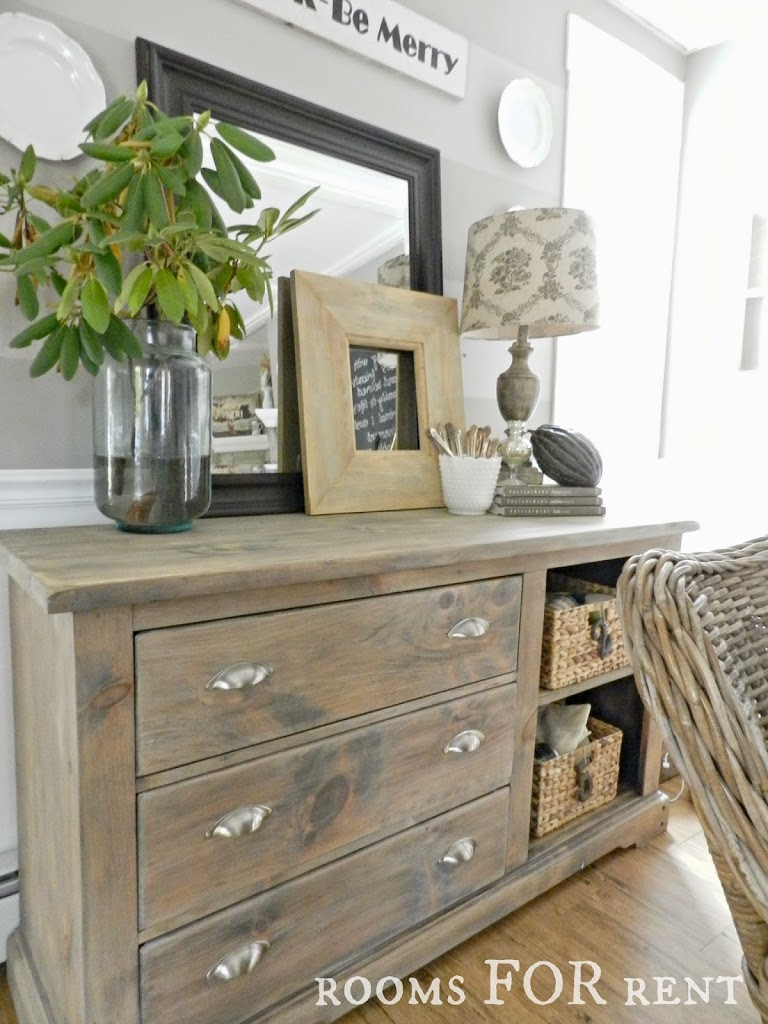 Gray Washed Dresser Reveal Rooms For Rent Blog