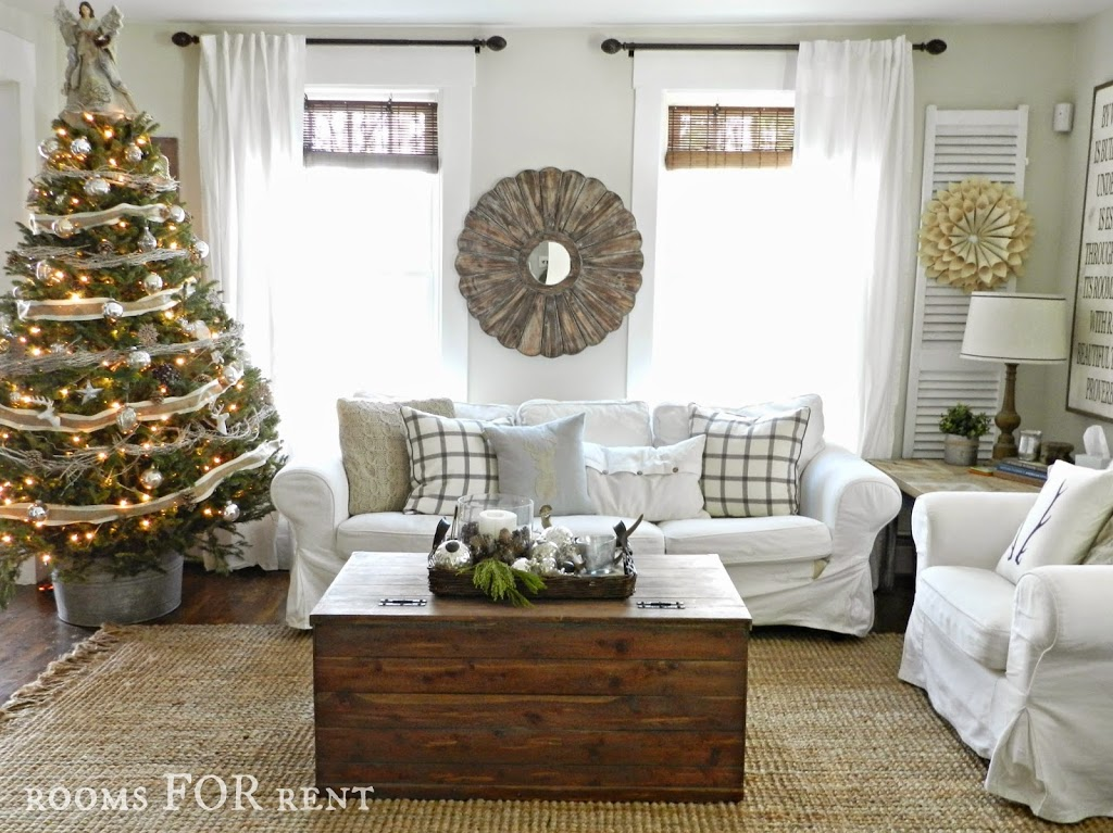 woodland glam christmas tree rooms for rent blog. Black Bedroom Furniture Sets. Home Design Ideas