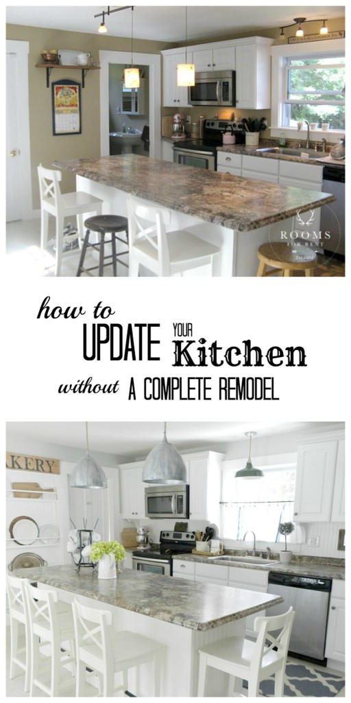 how to update your kitchen rooms for rent blog