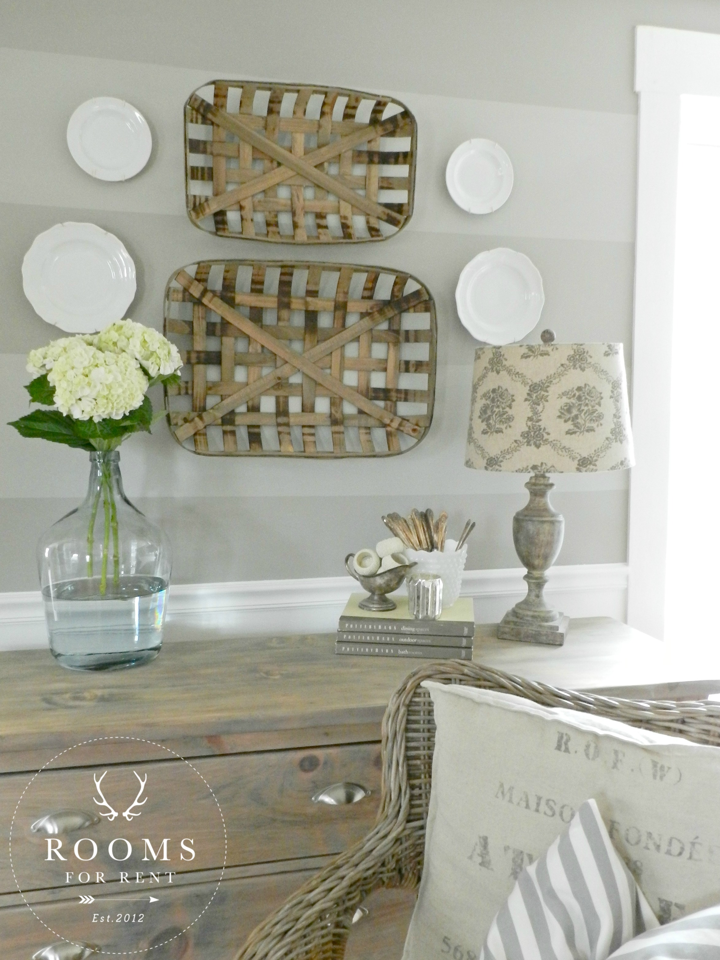 Tobacco Baskets Wall Decor A Giveaway Rooms For Rent Blog