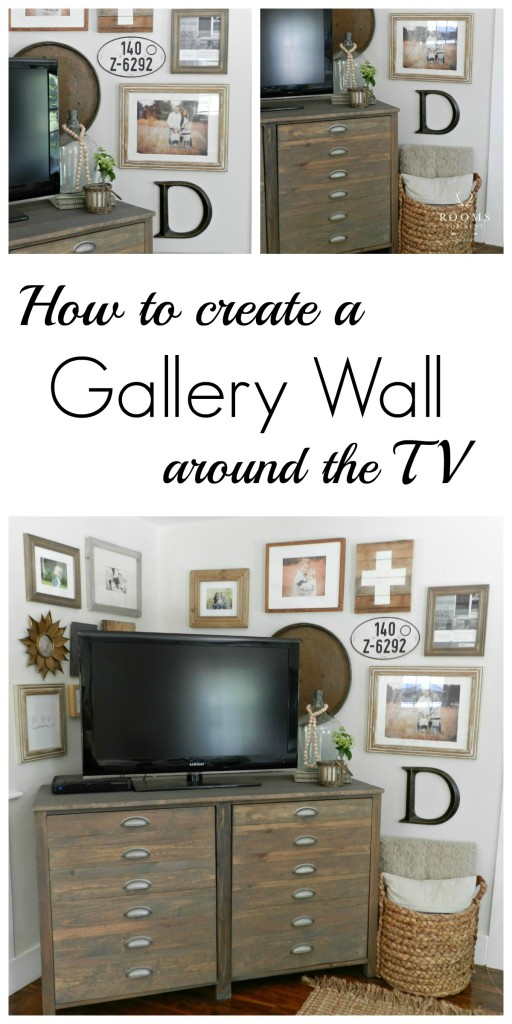 Wall Decor Placement Ideas : How to create a gallery wall city farmhouse