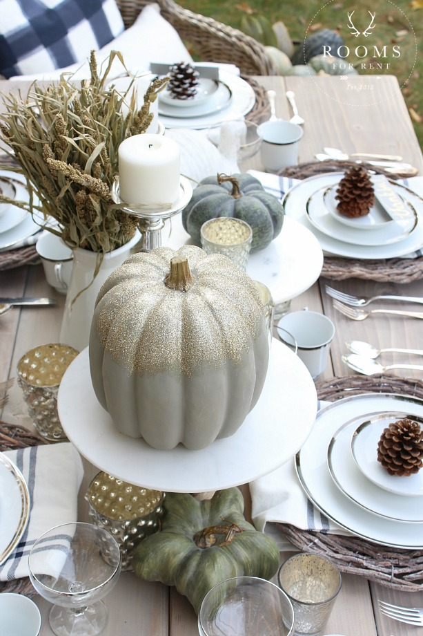 Thanksgiving Tablescape Tour | Rooms FOR Rent Blog