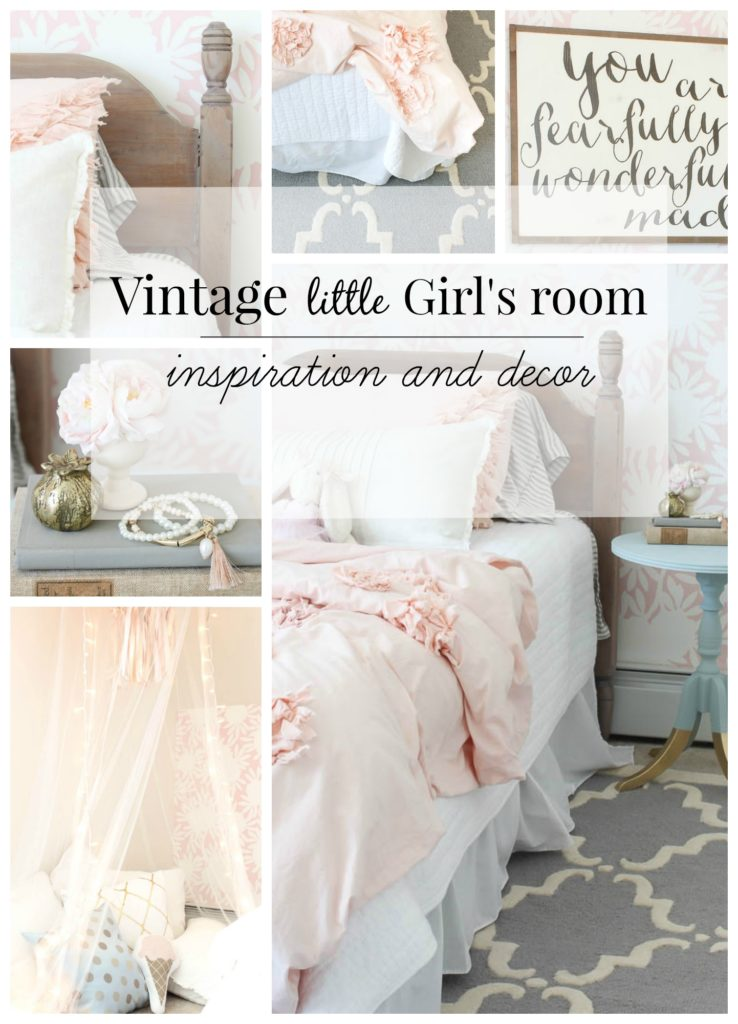 Vintage Girls Room decor