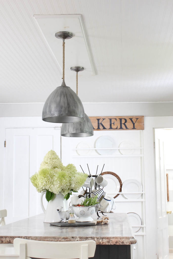 Kitchen Ceiling Wallpaper Reveal   Rooms FOR Rent Blog