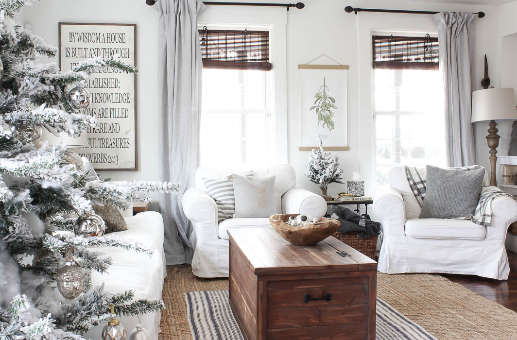 Not too hot not too cold but just right rooms for - Long or short curtains in living room ...
