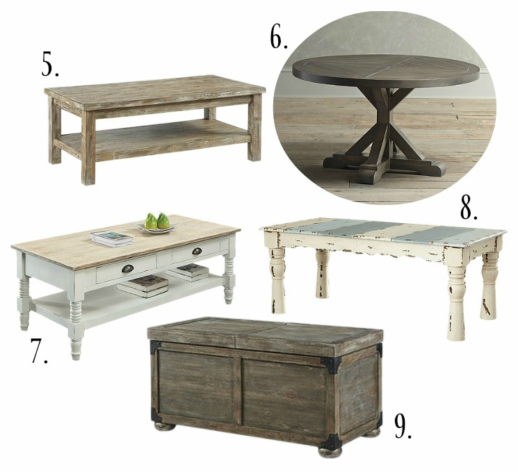 Romy Square Metal Coffee Table Am Pm: Farmhouse Style Coffee Tables