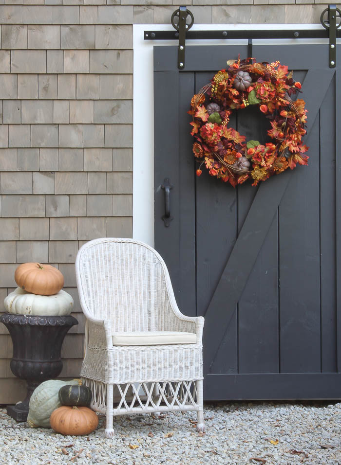Autumn Patio with Balsam Hill