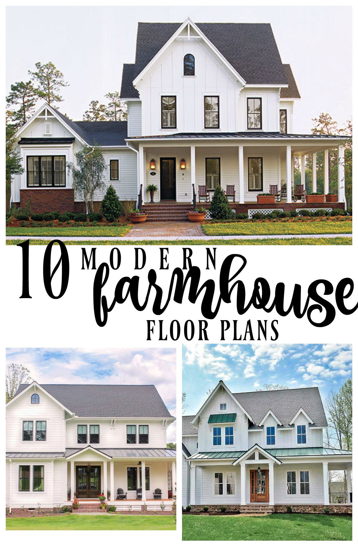 10 modern farmhouse floor plans i love rooms for rent blog for Farmhouse style building plans