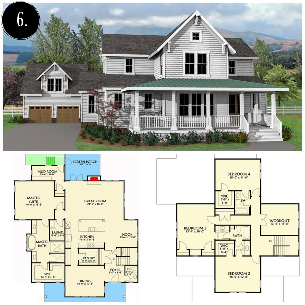 Great Modern Farmhouse Floor Plan | Rooms FOR Rent Blog Awesome Ideas