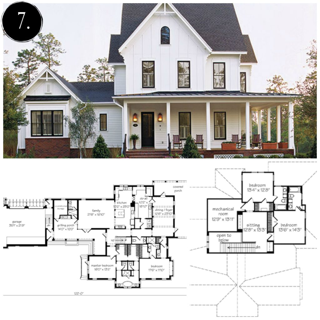 Nice Modern Farmhouse Floor Plan | Rooms FOR Rent Blog