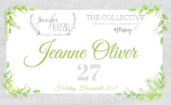 Jeanne Oliver Holiday Housewalk | Rooms FOR Rent Blog