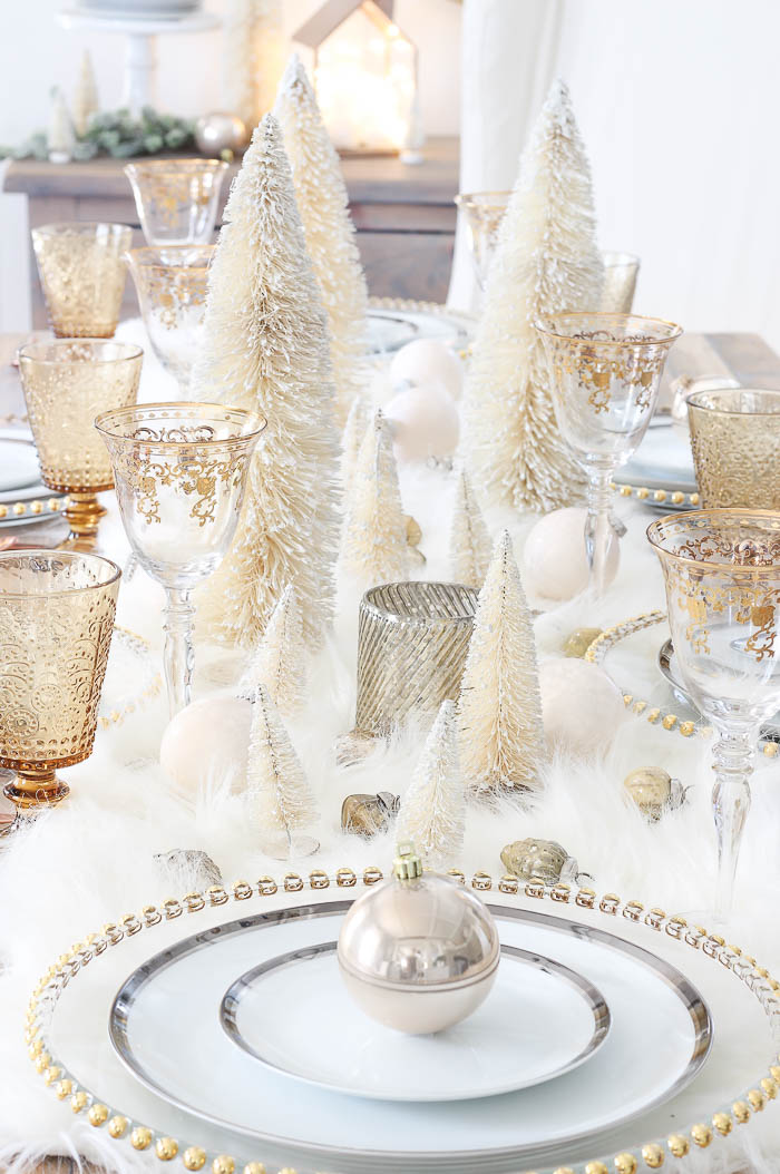 Winter Wonderland Tablescape Rooms For Rent Blog