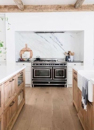 Kitchen Design Trend | Wood Cabinets