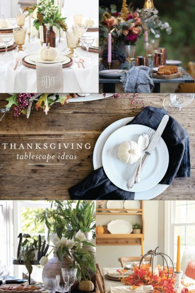 Thanksgiving Tablescape | 2018