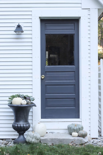 New Exterior Door Color