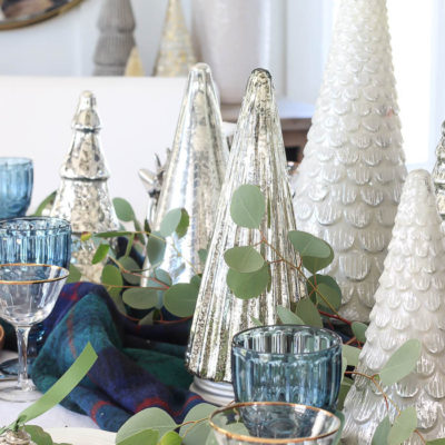 Eclectic Christmas Tablescape Tutorial