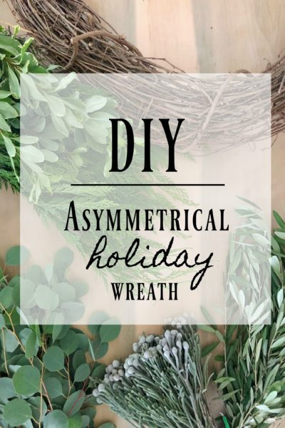 DIY | Asymmetrical Wreath