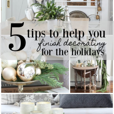 5 Tips for Decorating for Christmas