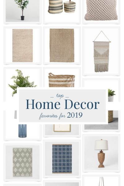 Top Home Decor Picks for 2019