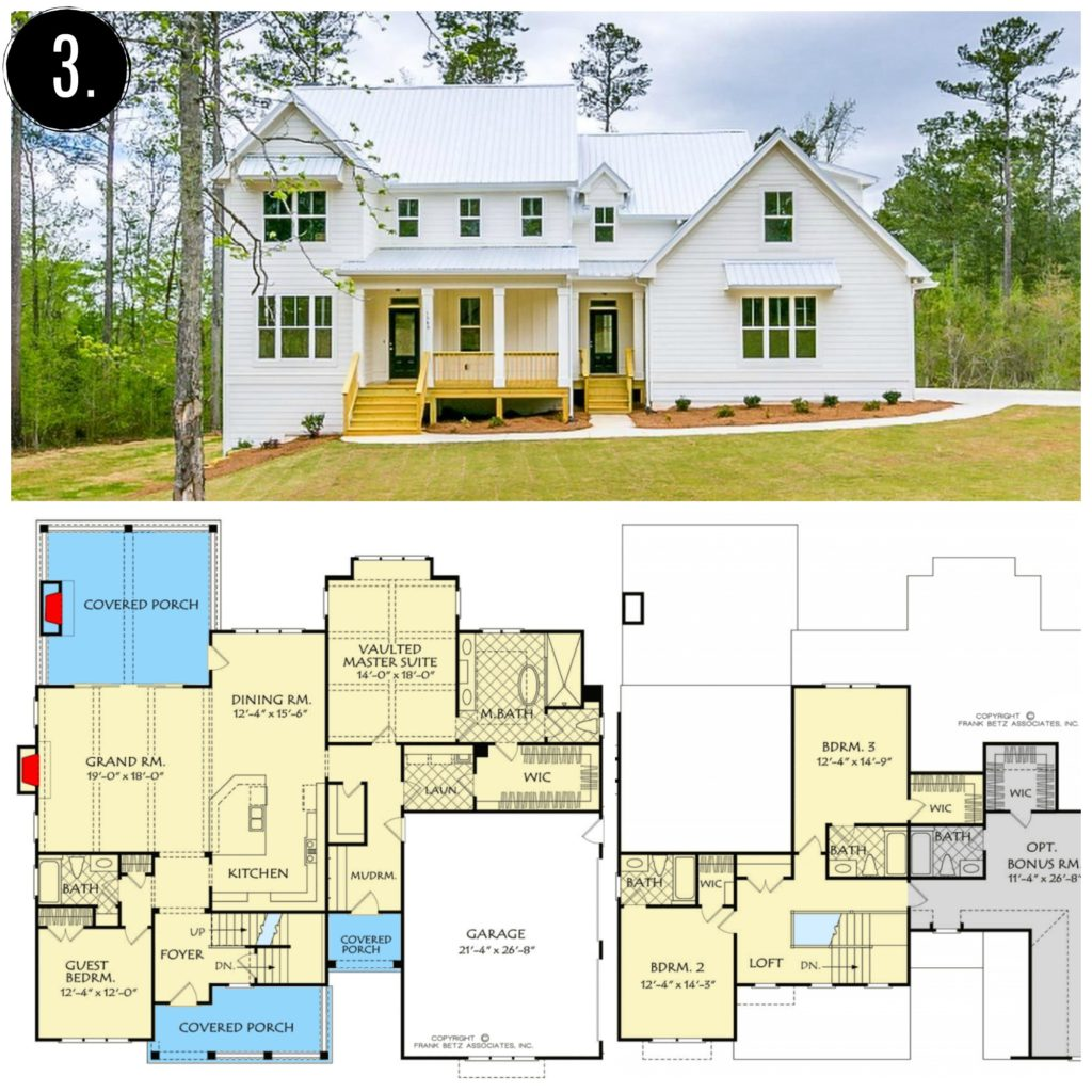 10 Amazing Modern Farmhouse Floor Plans Rooms For Rent Blog