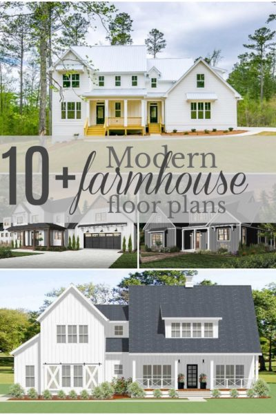 10+ Amazing Modern Farmhouse Floor Plans