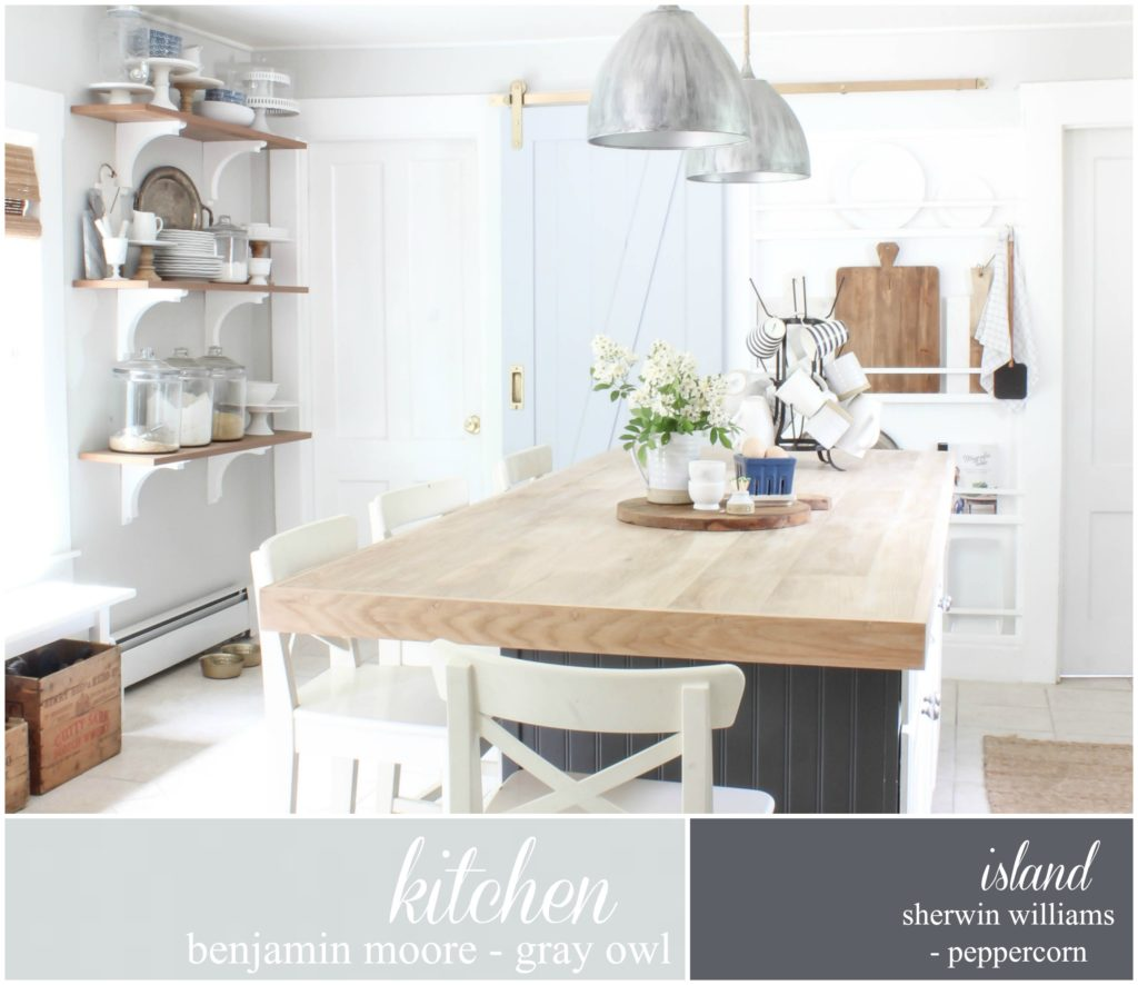 Grey Owl Kitchen: Paint Colors Around Our Home