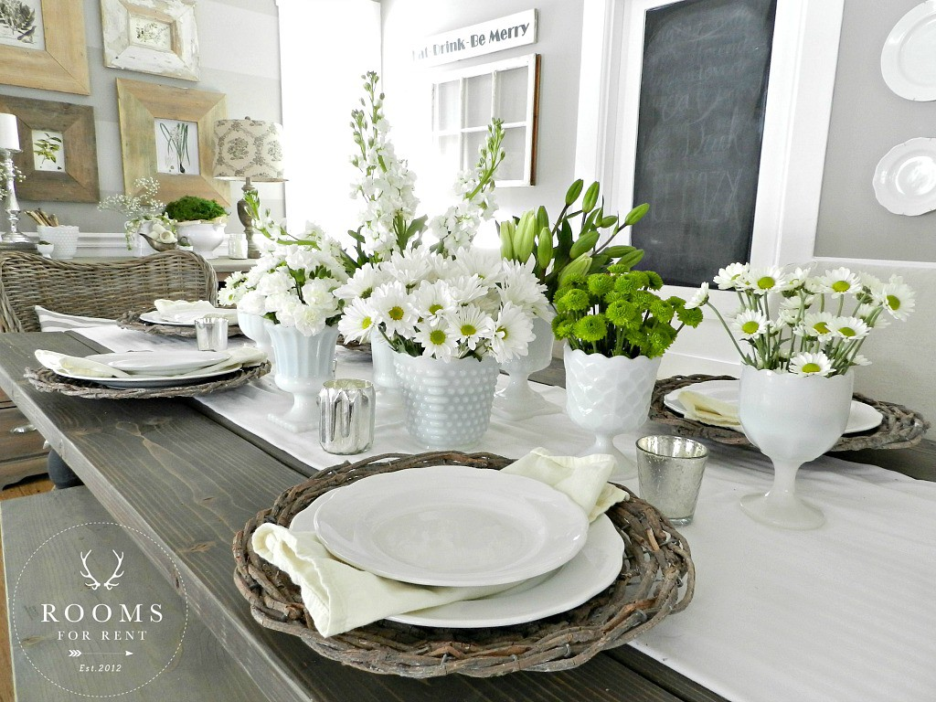 Spring Dining Room 2017 Rooms For Blog