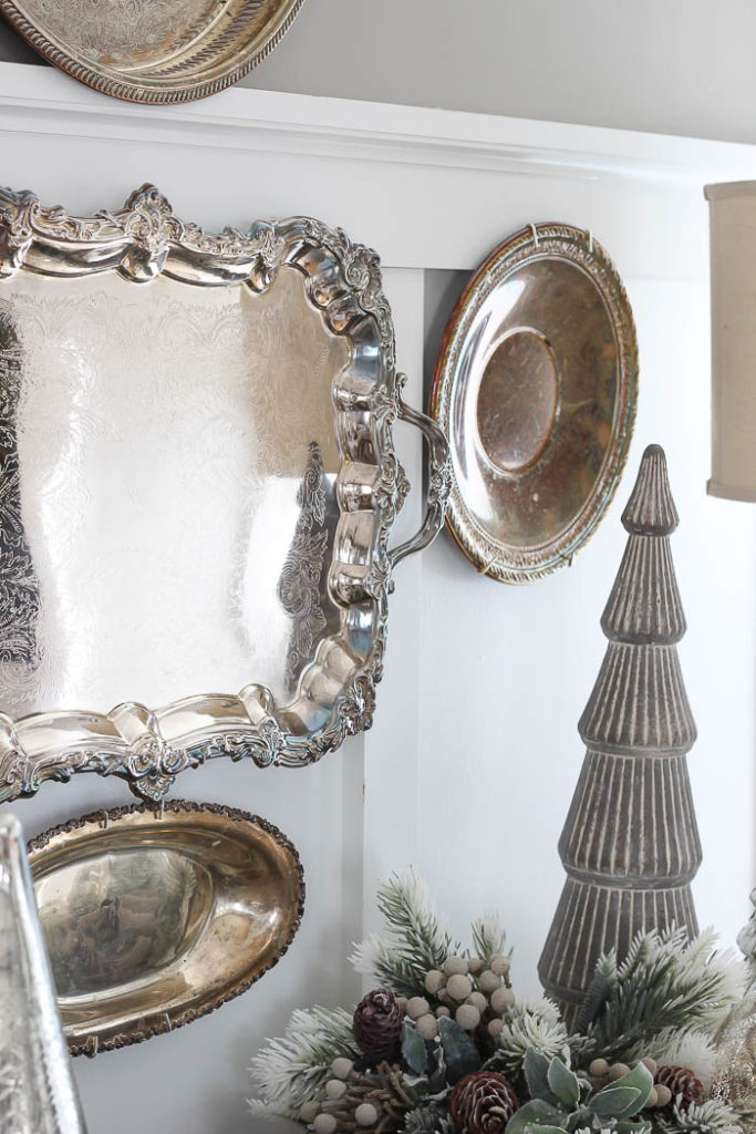 Diy Silver Tray Wall Rooms For Rent Blog