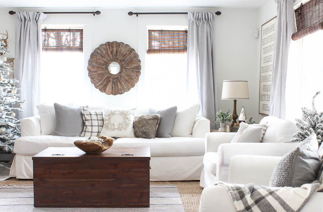 Not too hot, Not too cold, but just Right! - Rooms For ... on Farmhouse Living Room Curtains  id=68921