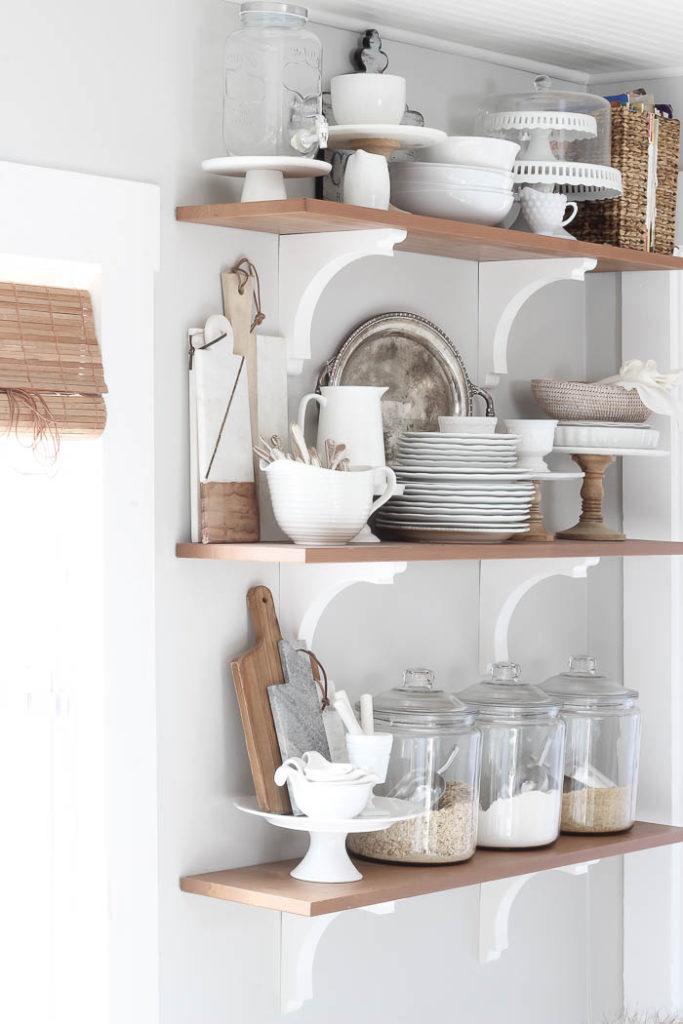 Kitchen Shelves Makeover Rooms For Rent Blog