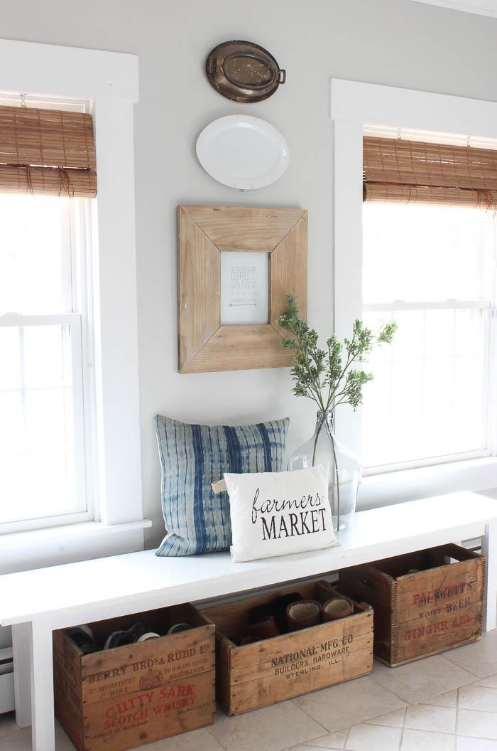 Farmhouse Decor For Living Rooms: Farmhouse Style Kitchen Decor