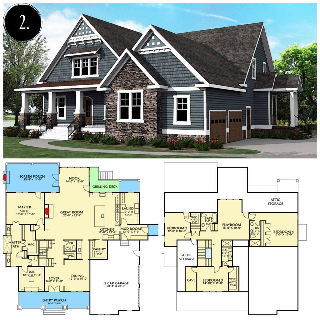. 12 Modern Farmhouse Floor Plans   Rooms For Rent blog