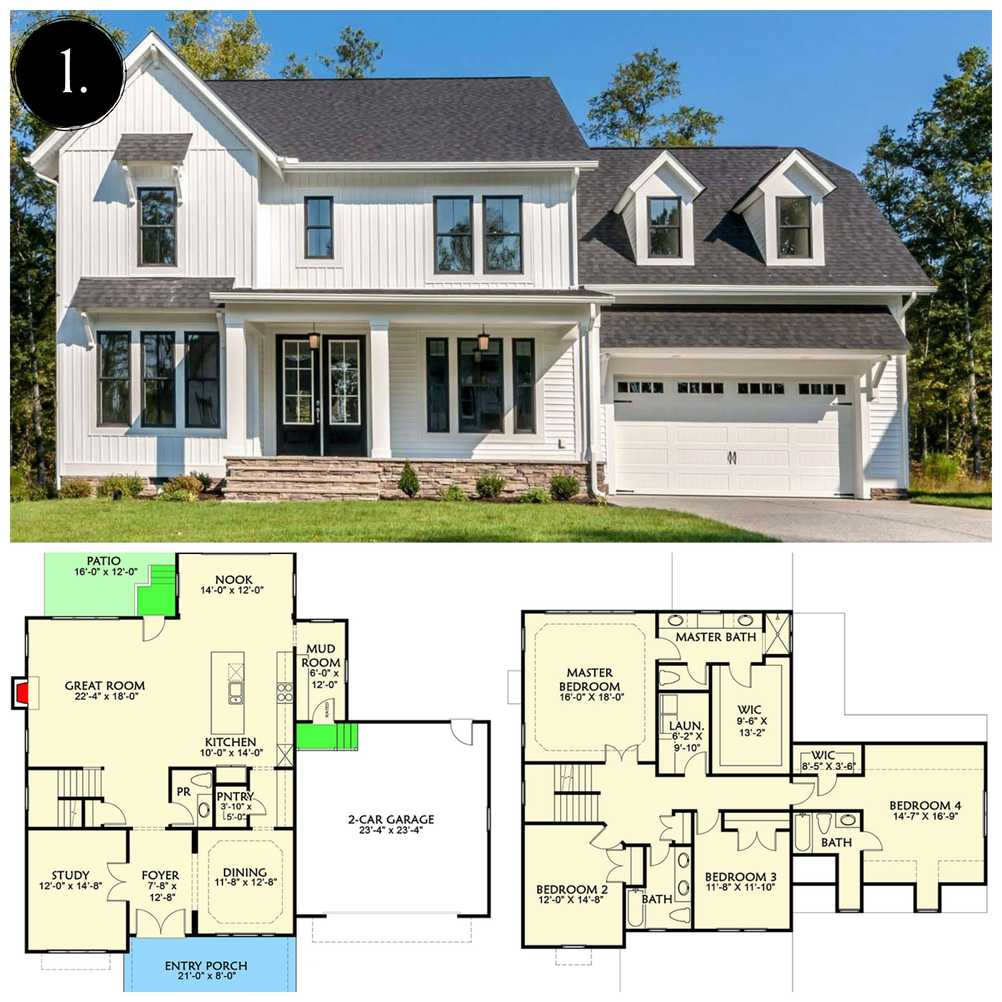 12 Modern Farmhouse Floor Plans | Rooms FOR Rent Blog ... on