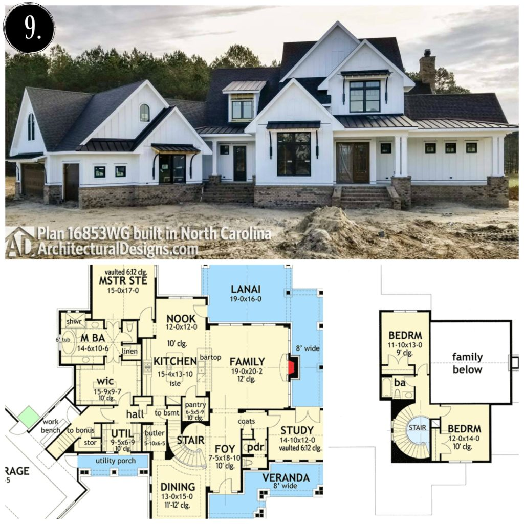 12 Modern Farmhouse Floor Plans - Rooms For Rent blog on