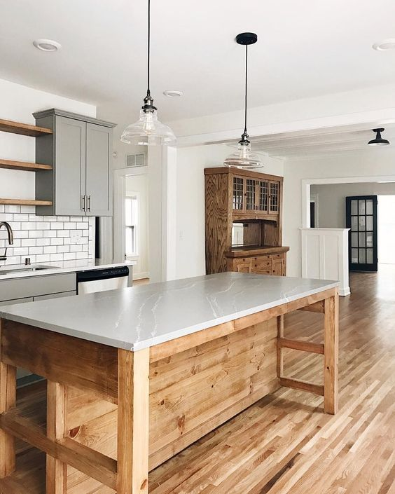 Blonde Oak Kitchen Cabinets: Wood Cabinets - Rooms For Rent Blog