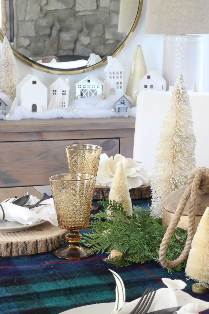 Rustic Christmas Tablescape | Rooms FOR Rent Blog