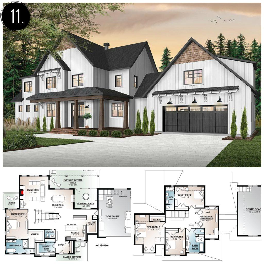 10+ Amazing Modern Farmhouse Floor Plans - Rooms For Rent blog